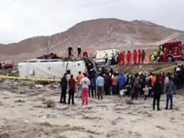 Photo of Choque de dos buses deja 14 muertos y 68 heridos en Perú