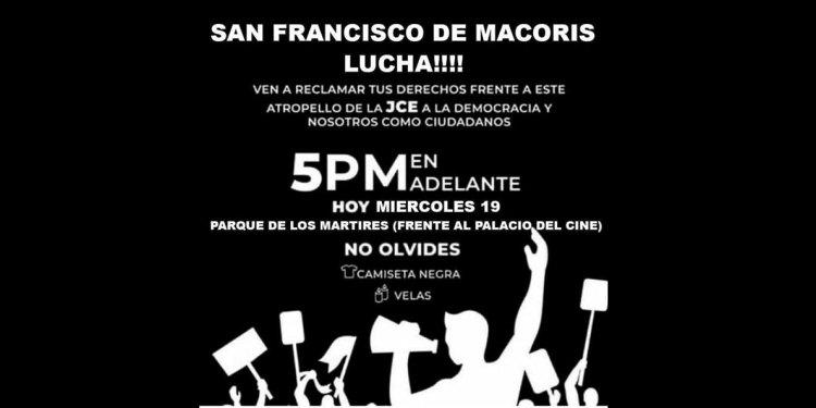 Photo of Convocan a concentración vestido de negro en parquecito Los Mártires SFM