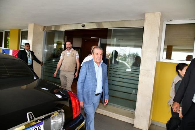 Photo of Eduardo Frei y personal de la OEA visita sede JCE este sábado