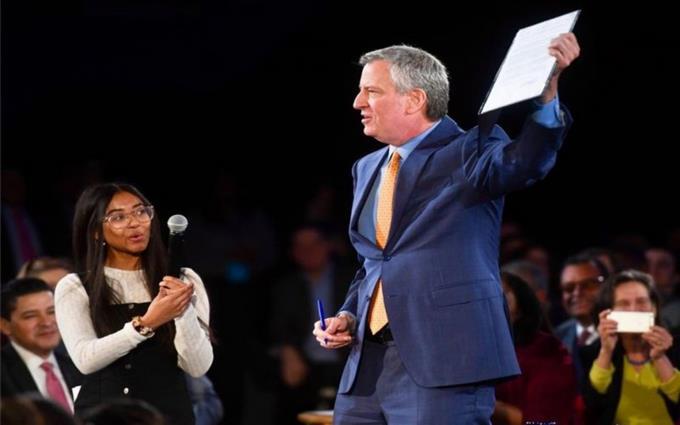 Photo of El alcalde De Blasio propone ambiciosa agenda para «salvar a Nueva York»
