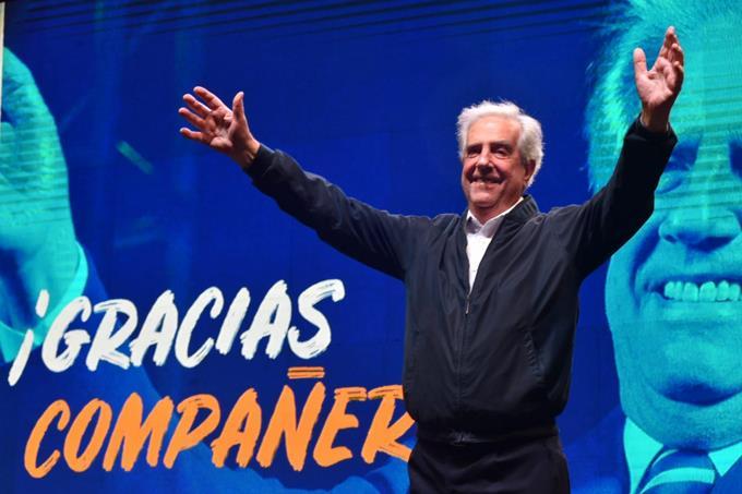 Photo of La izquierda uruguaya le dice adiós a su presidente Tabaré Vásquez