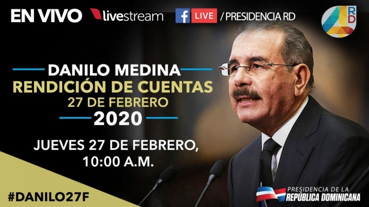 Photo of [Video] Discurso completo presidente Danilo Medina ante la Asamblea Nacional