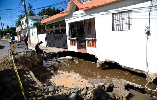 Photo of CORAASAN enfrenta problemas de rotura en tubería Bella Vista