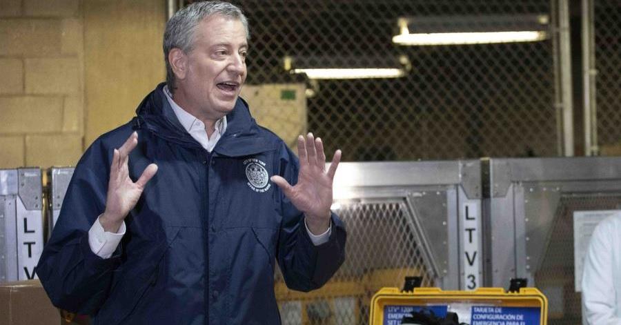 """Photo of Alcalde de Nueva York: es """"inconcebible"""" salir de la crisis del coronavirus en abril"""