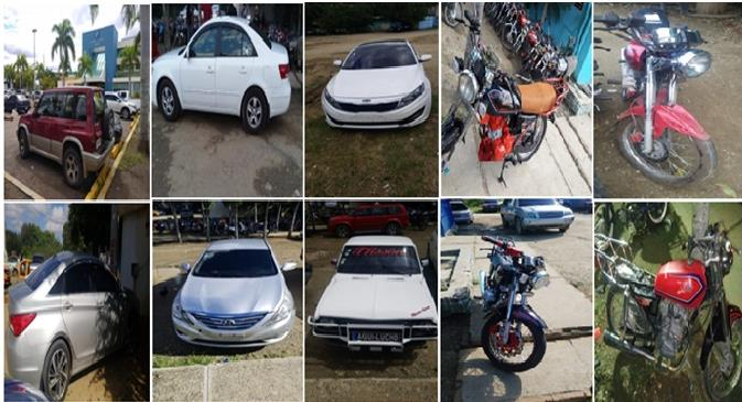 Photo of Policía recupera 11 vehículos y seis motocicleta habían sido robados