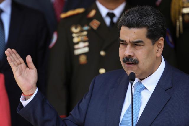Photo of EEUU inculpa de «narcoterrorismo» a Maduro y ofrece millonaria recompensa para detenerlo