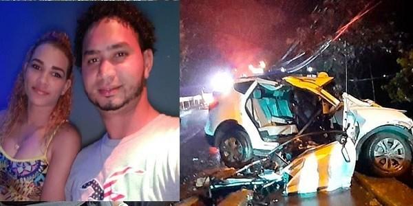 Photo of Una mujer muere y su esposo resulta herido en accidente de tránsito SFM
