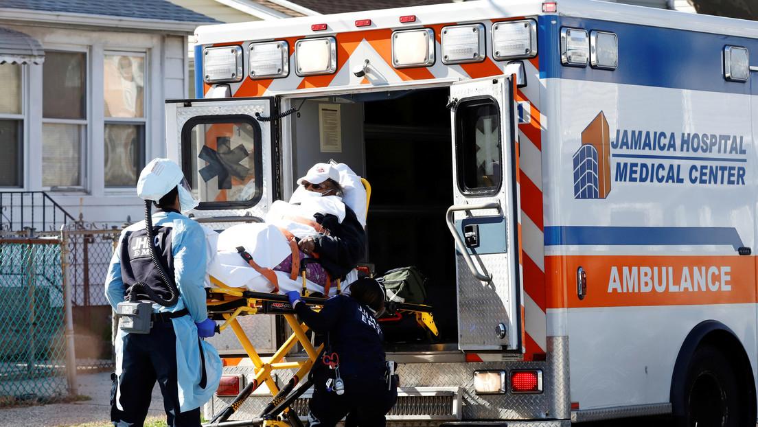 Photo of Cada 17 minutos muere una persona en Nueva York por coronavirus