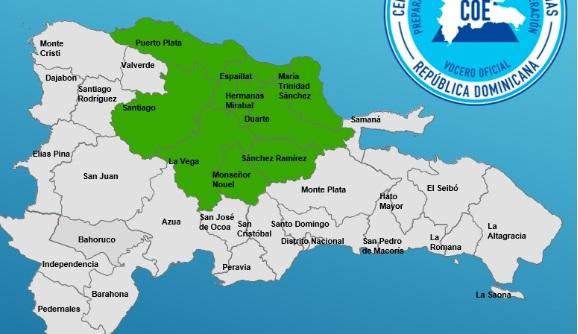 Photo of El COE coloca nueve provincias bajo alerta por posibles inundaciones