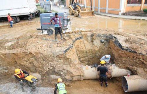 Photo of Colocan regulador de presión controlará explosiones en tubería Bella Vista