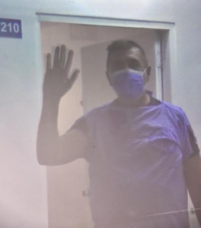 Photo of Difunden la imagen del primer paciente afectado por el COVID-19 en el país