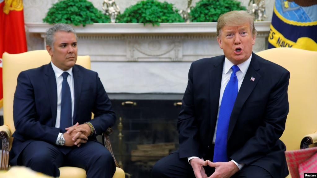 Photo of EEUU: Presidente de Colombia se reúne con Trump en la Casa Blanca