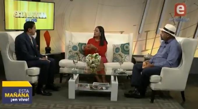 Photo of Momento en que infectólogo dice en televisión que se hará prueba COVID-19 y la sorpresa de entrevistadores