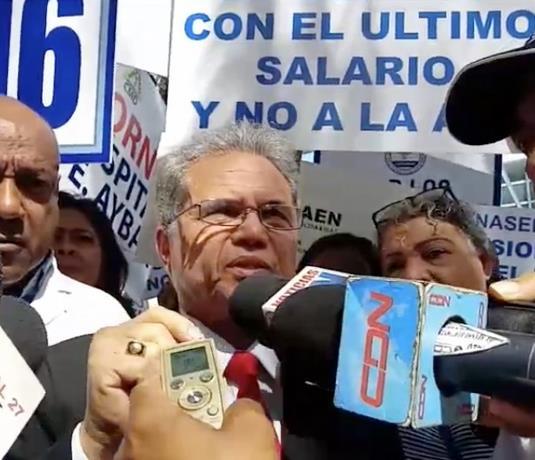 Photo of Waldo Ariel: «El Gobierno que cumpla con el Colegio Médico para que evitemos confrontación de cara al coronavirus»