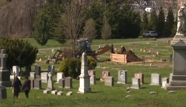 Photo of Cementerios en Nueva York llegan al límite con cadáveres de COVID-19