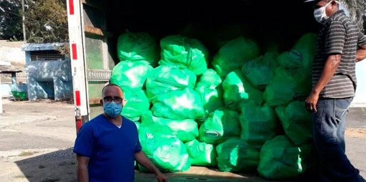 Photo of CRD provee de alimentos a hospitales y a las familias de su personal de enfermería y otras áreas