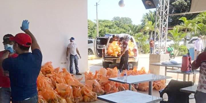 Photo of Fuerzas Vivas Provincia Duarte entrega más de RD$6.8 millones en raciones de alimentos e insumos médicos