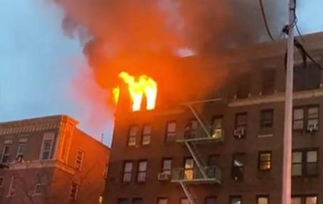 Photo of Mueren cuatro mujeres en incendio frente al hospital Lebanon en El Bronx