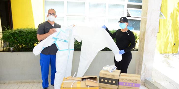 Photo of Fundación Faela hace donación de kits de bioseguridad al hospital de SFM