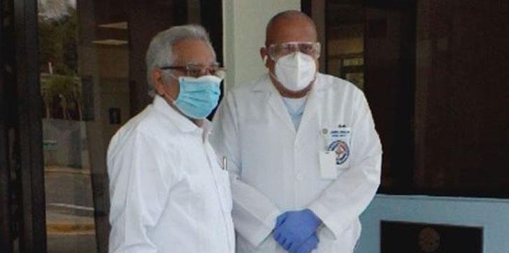 Photo of Gobernador provincia Duarte fue dado de alta tras 7 semanas hospitalizado por COVID-19