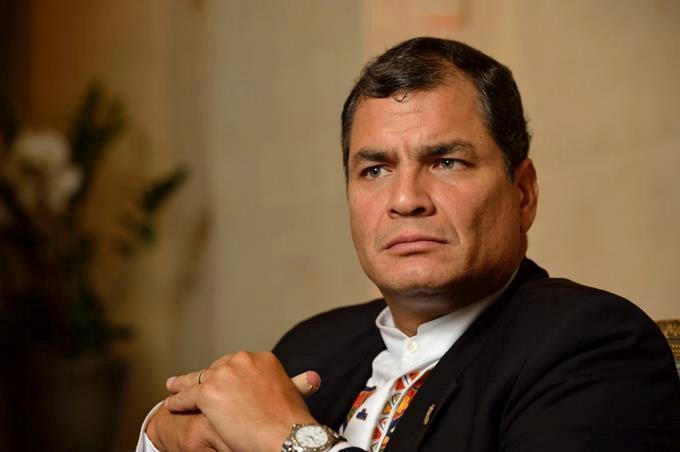 Photo of Rafael Correa cree que sentencia de justicia en Ecuador buscó apartarlo de las urnas