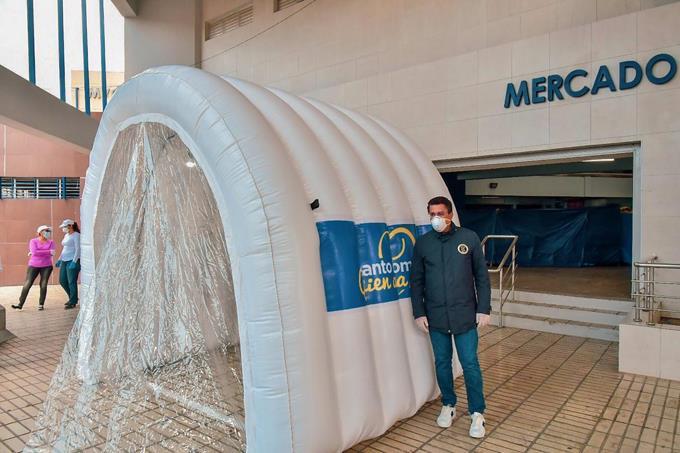 """Photo of ADN instalará """"túneles"""" para contrarrestar Covid-19 en la ciudad"""