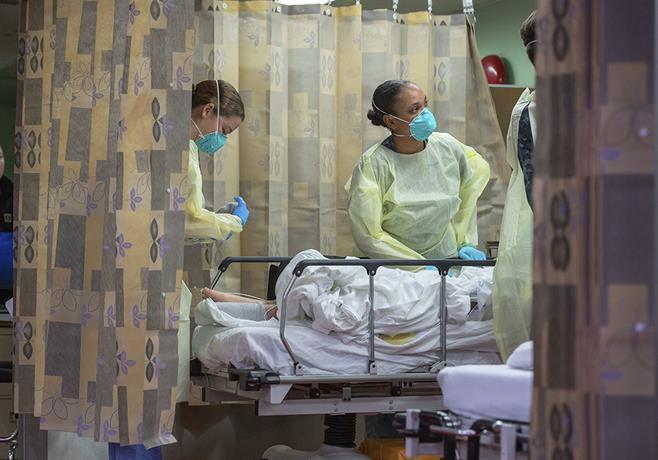 Photo of Nuevas protestas en EEUU contra las restricciones impuestas por la pandemia de coronavirus