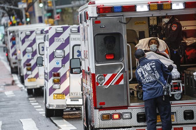 Photo of La cifra de muertes baja en Nueva York