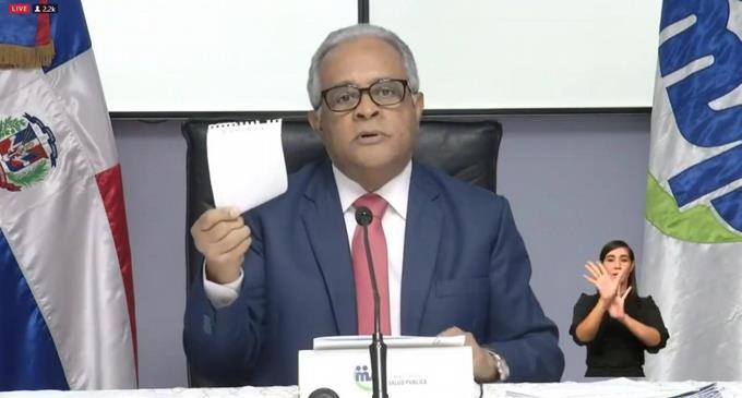Photo of Ministro de Salud, molesto, dice no está procurando negocios y pide al PRM que le respete