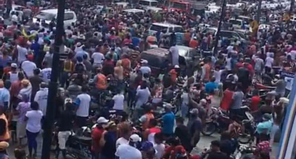 Photo of Alcalde aclara no patrocinó marcha del peregrino; el MIP afirma no la autorizó