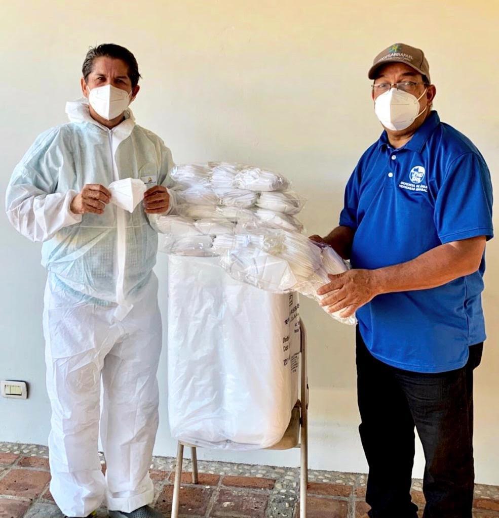 Photo of SALCEDO: Consejo Regional de Desarrollo dona mascarillas