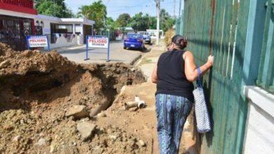 Photo of Tuberías de agua potable vuelven a explotarse en Bella Vista Santiago