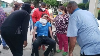Photo of VÍDEO: Agreden a trompadas a candidato a diputado del PLD durante repartición de fundas alimentos