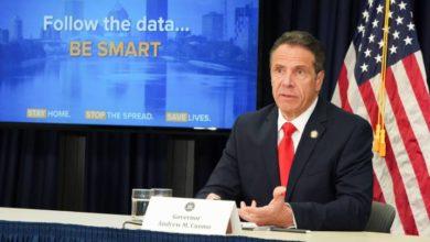 Photo of Gobernador de Nueva York extiende cuarentena hasta el 13 de junio