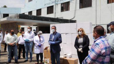 Photo of Leonel entrega equipos para combatir coronavirus en Hermanas Mirabal: