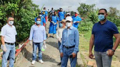 Photo of Ayuntamiento SFM realiza operativo desinfección y fumigación en hospital y sectores Ugamba y Ribera del Jaya