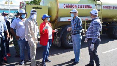 Photo of Alcalde SFM encabeza jornada de limpieza y desinfección contra Coronavirus