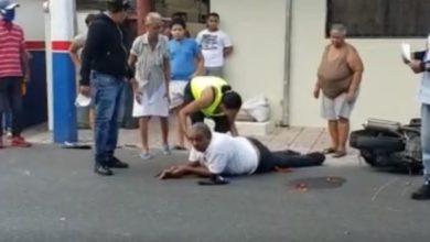 Photo of Accidente deja dos heridos en calle Nueva de en SFM