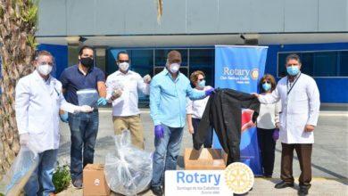 Photo of Rotarios donan insumos a cuatro centros de salud