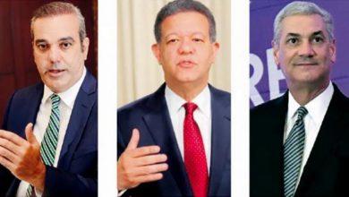 Photo of Encuestadora HR dice Abinader obtendría 41.3%, Leonel 33.5% y Gonzalo 22.8%