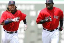 """Photo of David Ortiz: """"Las tres mejores cosas que me pasaron en mi carrera fue jugar en Boston, ser bendecido por Dios, y jugar con Manny Ramírez"""""""