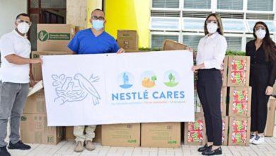 Photo of Nestlé Dominicana entrega materiales de protección y alimentos al Hospital San Vicente de Paul