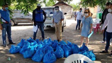 Photo of Olmedo continúa llevando raciones alimenticias en la Provincia Duarte