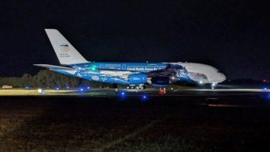 Photo of Ya llegó al país el avión comercial más grande del mundo con insumos sanitarios