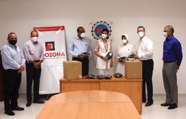 Photo of Adozona dona 40 mil mascarillas a instituciones de Santiago