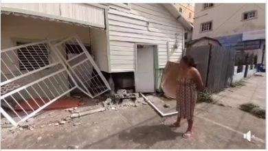 Photo of Huyendo de la policía hombre estrelló vehículo con un casa en SFM