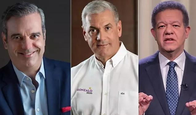 Photo of Abinader alcanza 52.1%, Gonzalo 34.5% y Leonel 8.2%, según encuesta