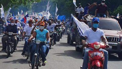 Photo of PRM cierra campaña con gigantesca Caravana en SFM