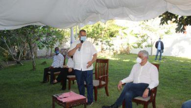 Photo of Miguel Vargas sostiene importante encuentro con candidatos y dirigentes del PRD en SFM