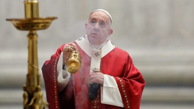 Photo of Papa Francisco llama a vencer la pandemia